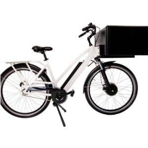 Bezorgfiets. Stevige bezorg E-Bike