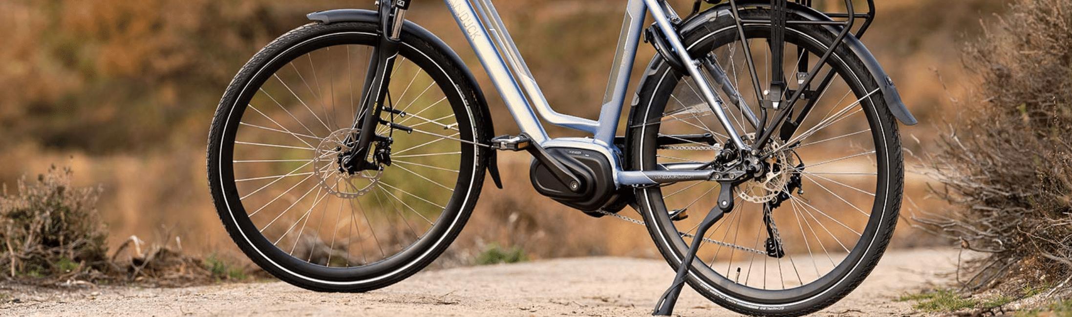 Banden oppompen - elektrische fiets onderhoud