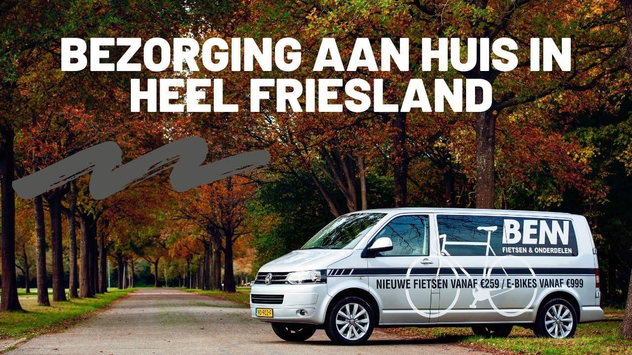 Fietsen thuis bezorgd in Friesland